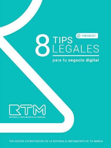 Checklist 8 tips legales para tu negocio digital